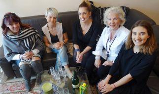 """Wer wird in Wiesbaden """"Shopping Queen""""? V.l.: Heike, Corinna, Theresa, Conny und Juliane. (Foto)"""