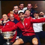 So feiert Boris Becker den Sieg seines Schützlinges (Foto)