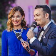 Jana Ina und Giovanni Zarrella moderieren die Katzenberger-Hochzeit live für RTL II.