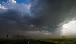 Deutschland wird derzeit von massiven Stürmen und Unwettern heimgesucht. (Foto)