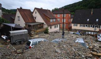 Unwetter und Überschwemmungen richteten in Braunsbach schwere Schäden an. (Foto)