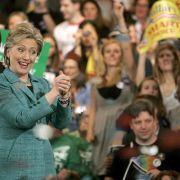 Clinton siegt erneut, Obama gratuliert (Foto)
