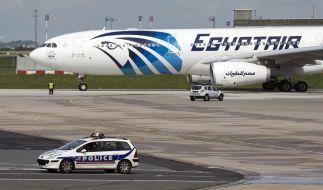 Eine Maschine der Fluglinie EgyptAir musste wegen einer Bombendrohung notlanden (Symbolbild). (Foto)