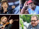 Ottfried Fischer, Hulk Hogan, Mick Jagger