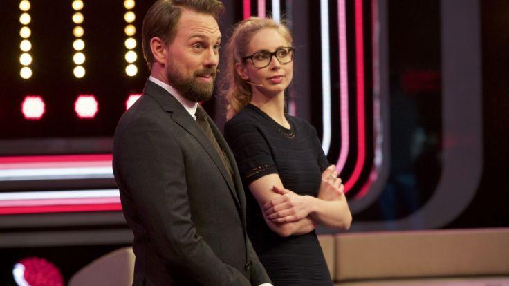 Steven Gätjen und Christiane Stenger. (Foto)