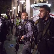 Israel im Ausnahmezustand - Sicherheitsmaßnahmen verschärft (Foto)