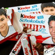 Für mehr als 1.000 Euro! Boateng-Kinderschokolade versteigert (Foto)