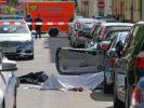 In Hamburg wurde ein Mann in seinem Auto durch einen Kopfschuss getötet. (Foto)