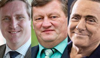 CSU-Landtagsabgeordnete Brückner (Mitte) hatte Sex mit einer Minderjährigen. (Foto)