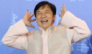 Jackie Chan ist mit Martial-Arts-Filmen berühmt geworden. (Foto)