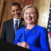 Ungewohnt angriffslustig! Obama kämpft für Clinton (Foto)