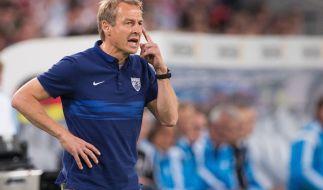 USA wahrt Viertelfinal-Chance: Jürgen Klinsmann atmet auf. (Foto)