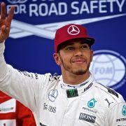 Lewis Hamilton siegt bei Formel-1-Rennen gegen Sebastian Vettel (Foto)