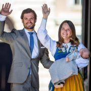 Prinzessin Sofia und Carl Philip feierten ihren 1. Hochzeitstag (Foto)