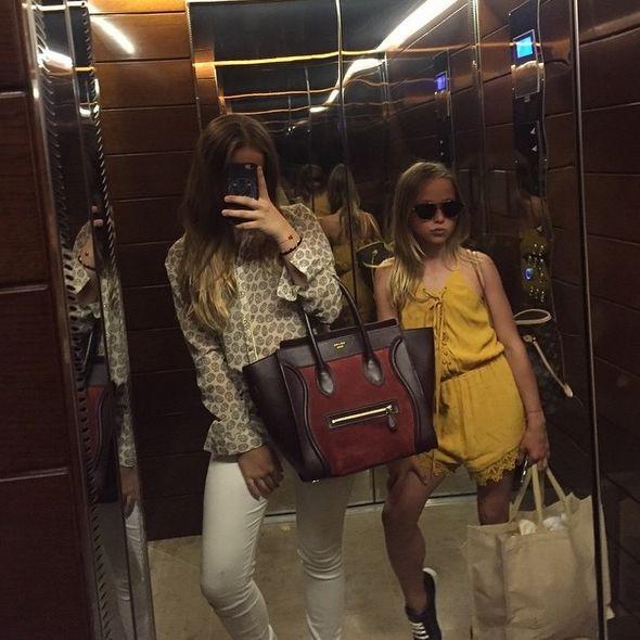 Kids Shania und Davina Geiss bei Instagram! Muss das sein? (Foto)