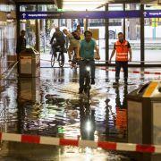 Achtung, Sintflut! Ausnahmezustand aktuell durch Tief Ines (Foto)
