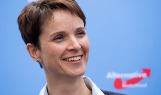 Frauke Petry ist AfD-Vorsitzende in Sachsen. (Foto)