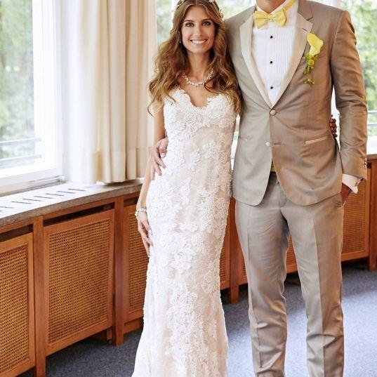 1. Hochzeitstag! So süß gratuliert sie ihrem Mats (Foto)