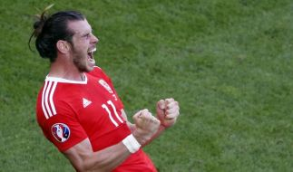 Gareth Bale will mit Wales gegen England punkten. (Foto)