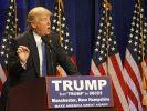 Hat die deutsche Flüchtlingspolitik als einen entsetzlichen Fehler bezeichnet: US-Präsidentschaftsbewerber Donald Trump. (Foto)