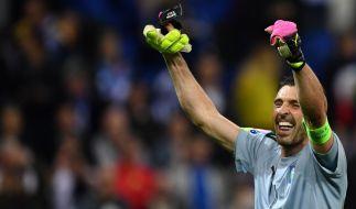 Torwart Buffon will mit Italien den nächsten Sieg einfahren. (Foto)