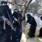 """So helfen Frauen beim Aufbau des """"Islamischen Staats"""" (Foto)"""