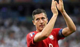 Wechselt der FC-Bayern-Spieler Robert Lewandowski jetzt zu Jürgen Klopp nach England? (Foto)