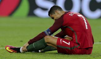 Cristiano Ronaldo spielt mit Portugal um den Einzug ins Achtelfinale. (Foto)