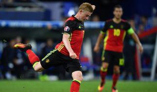 Kevin De Bruyne muss mit Belgien gegen Irland antreten. (Foto)