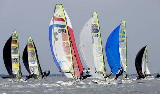 Auch dieses Jahr wird es wieder jede Menge Segel-Regatten auf der Kiwo geben. (Foto)