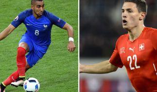 Die Schweiz schickt ihre beste Mannschaft ins Rennen gegen Frankreich. (Foto)