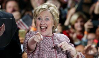 Hillary Clinton möchte die erste Präsidentin der USA werden. (Foto)