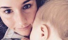 Sarah Lombardi mit ihrem Sohn Alessio. (Foto)