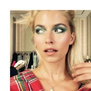 Sehr interessantes Make-Up... aber Lena Gercke kann ja alles tragen.
