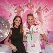 Mit IHR hat der Bayern-Star sein Liebes-Glück gefunden (Foto)
