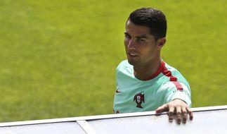 Cristiano Ronaldo leistete sich einen peinlichen Ausraster. (Foto)