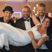 Andi, Ole und Nils im Einsatz für die Liebe - Können sie die Hochzeit retten? (Foto)