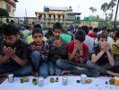 Muslimische Waisenkinder in Srinagar, Kaschmir, während des Ramadan 2015. (Foto)