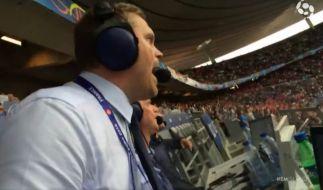 Gudmundur Benediktsson gab beim Island-Spiel wirklich alles. (Foto)