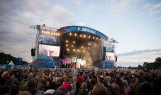 Rund 70.000 Fans pilgern jedes Jahr zum Hurricane Festival. (Foto)