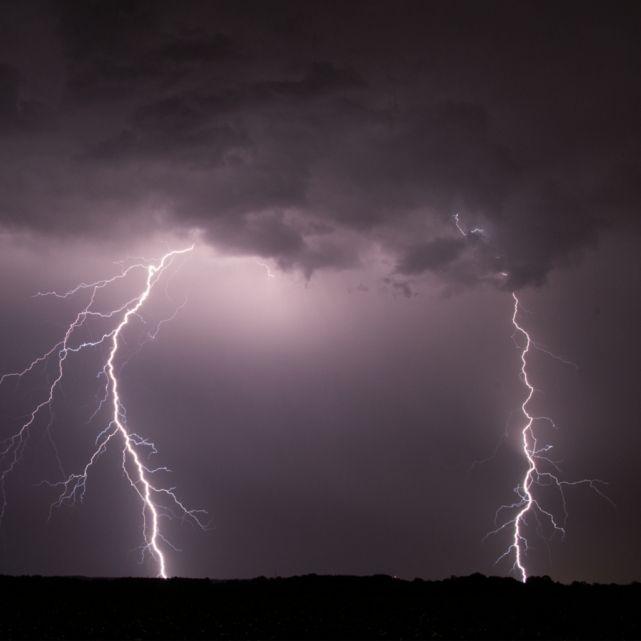 Hagel und Gewitter! Nach der Hitze kommen die Unwetter (Foto)