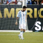Wieder verloren! Lionel Messi erklärt Rücktritt aus Nationalmannschaft (Foto)