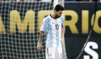 Lionel Messi hat seinen Rücktritt erklärt. (Foto)