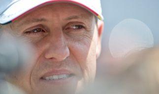Auf Facebook verbreitet sich aktuell die Falschmeldung vom Tod Michael Schumachers. (Foto)