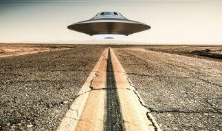 Eine Nasa-Fotografie aus dem Jahr 1965 zeigt ein vermeintliches Ufo über Texas. (Symbolbild) (Foto)