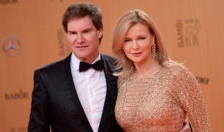 Veronica Ferres und ihr Mann Carsten Maschmeyer. (Foto)