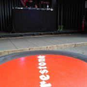 Die Reifenmarke hatte einen eigenen DJ am Start.