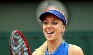 Sabine Lisicki bei ihrem Sieg über Shelby Rogers in Wimbledon. (Foto)