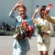 An ihrem 21. Geburtstag im Juli 1998 ist die schwedische Kronprinzessin zwar noch sehr schlank, aber nicht mehr abgemagert.
