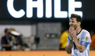 Lionel Messis Rücktritt wird zur Staatsangelegenheit. (Foto)